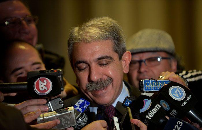Anibal Fernández volvió a descartar la posibilidad de modificar el sistema electoral.