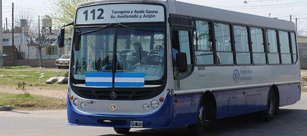 El ataque al interno de la línea 112 ocurrió en la zona sudoeste de Rosario. (Foto de archivo).