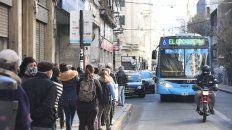 REPLANTEO. Las autoridades locales precisaron que el 65 por ciento de los pasajeros se concentran en 15 líneas.
