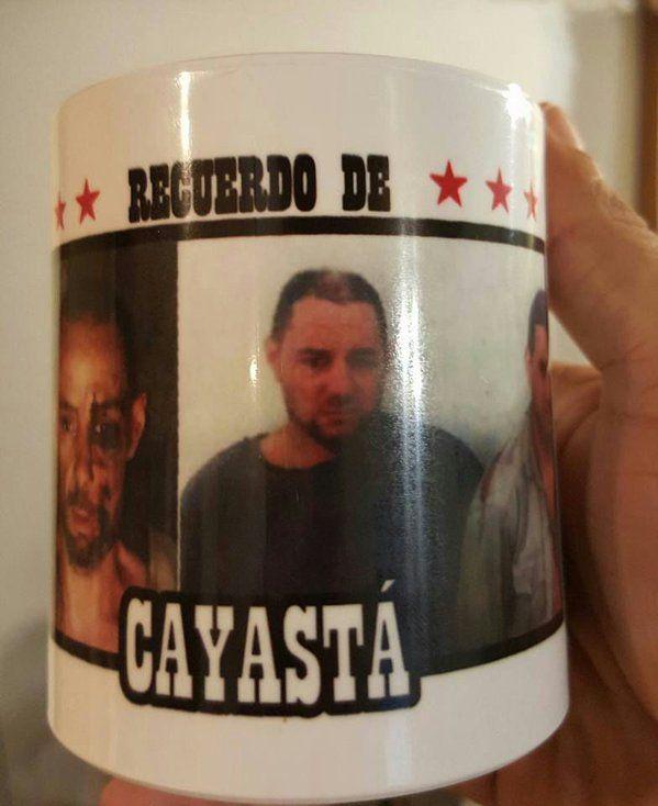 Los Recuerdos de Cayastá tienen la imagen de los prófugos del triple crimen