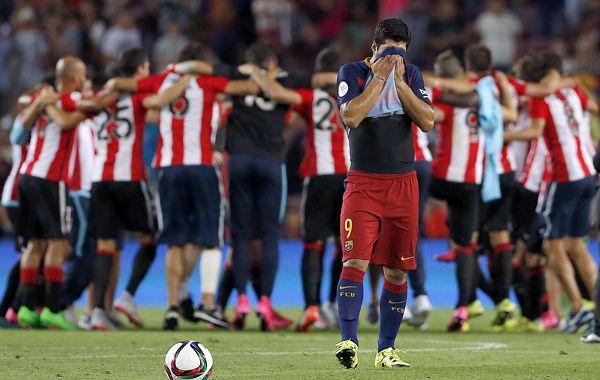 Luis Suárez había soñado con una hazaña que no se dió.