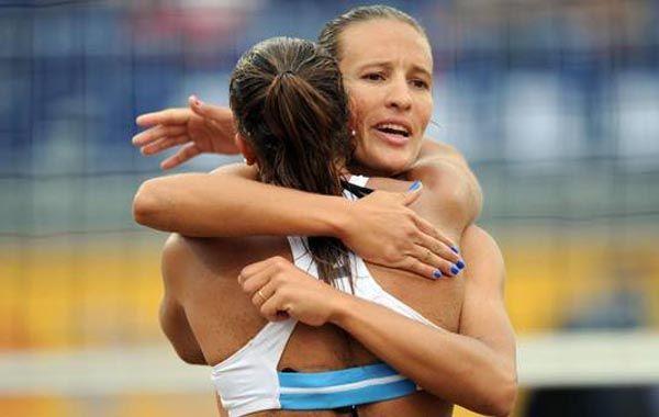 Las chicas del beach vóley dejaron el corazón y conquistaron el oro en los Juegos Panamericanos