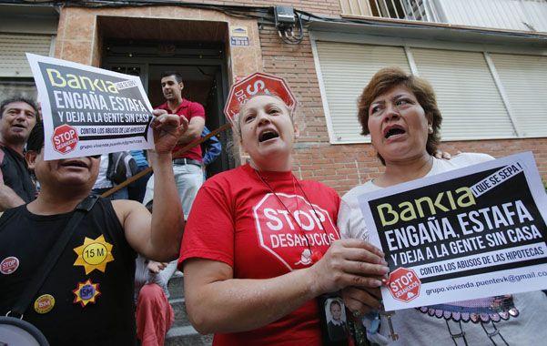Damnificados y enojados. Protestas contra Bankia durante 2012