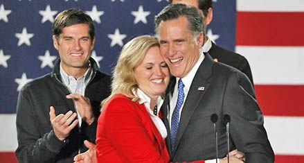 La interna republicana arrancó con una ajustada victoria de Mitt Romney