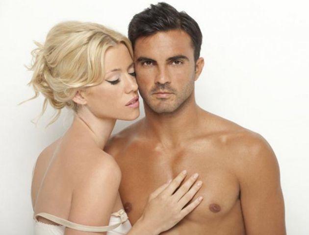 Nicole Neumann y Poroto Cubero juntos en una sensual campaña de fotos.