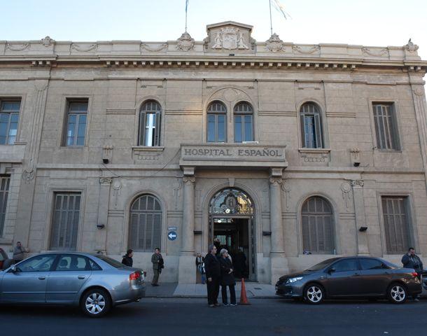 Antonella continuará internada en la maternidad del Hospital Español. (Foto: M. Bustamante)