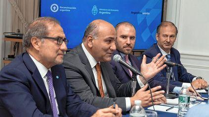 Manzur y Guzmán se reunieron con inversores, quienes pidieron acelerar el acuerdo con el FMI