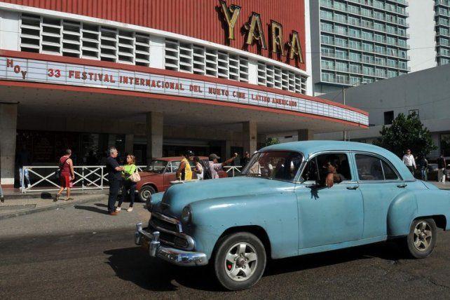 La sala Yara