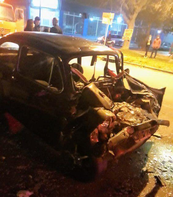 Tremendo choque en Fray Luis Beltrán, con una víctima fatal