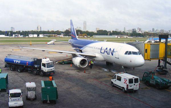 Situación similar sufrió la empresa LAN en Rosario en 2011.