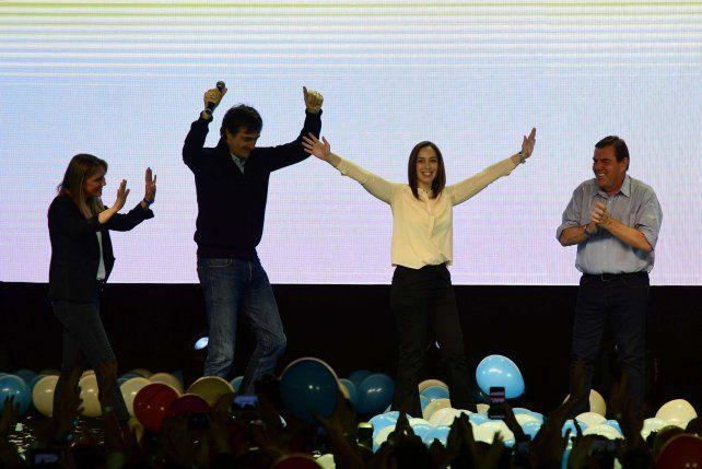 Vidal celebró que Cambiemos sigue haciendo historia en la provincia de Buenos Aires