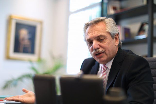 Alberto Fernández participará del acto por el Día de la Bandera pero de modo virtual