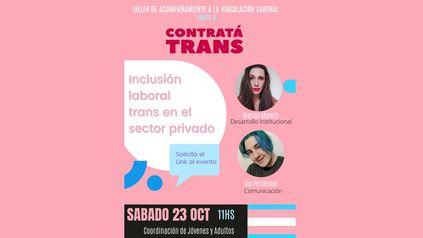 Taller sobre inclusión laboral trans en el sector privado