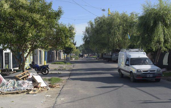 El homicidio ocurrió en Dorrego al 3900. (Sebastián Suárez Meccia / La Capital)