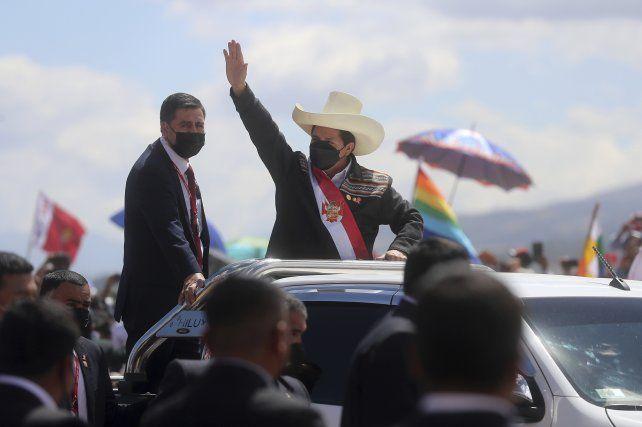 El presidente Pedro Castillo volvió a jurar su cargo