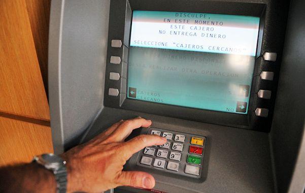 Caja. El sector bancario exhibe niveles récord de rentabilidad en los últimos años. En 2013 repitió la performance. (foto: Sebastián Suárez Meccia)