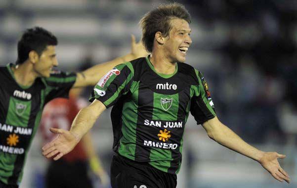 En la mira. El delantero de San Martín es pretendido por varios clubes.