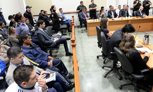 La Cámara Penal decidió hoy absolver a Sprío y bajar la condena de Palavecino y Delgado. (Foto: S. Salinas)