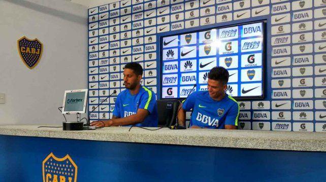 Después de la gresca en la práctica de Boca, Insaurralde y Silva pidieron disculpas