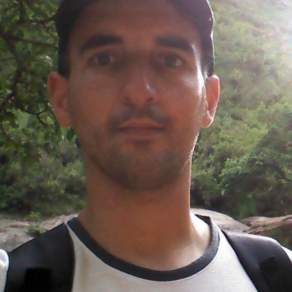 la víctima. Gustavo Lanzetti tiene 36 años y sufrió un ACV en Brasil.