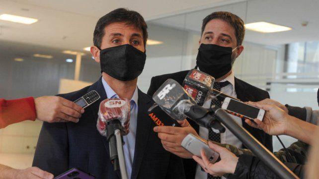 Los fiscales Matías Edery y Luis Schiappa Pietra.