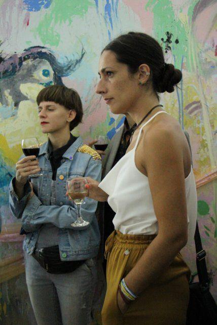 Luisina Martin y Larisa Prestipino.