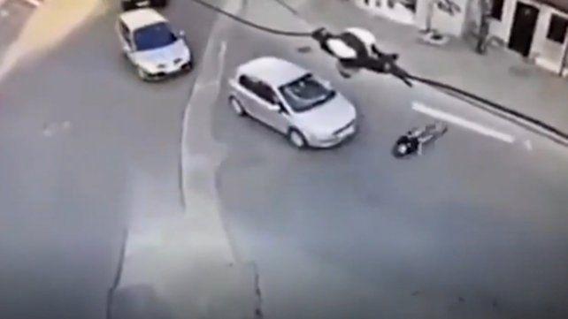 Simuló un accidente para estafar al seguro pero un video la delató