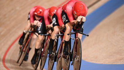 El conjunto de ciclismo persecución por equipos de Dinamarca, bajo la lupa.
