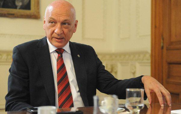 Antonio Bonfatti. El mandatario extendió la emergencia votada en 2012.
