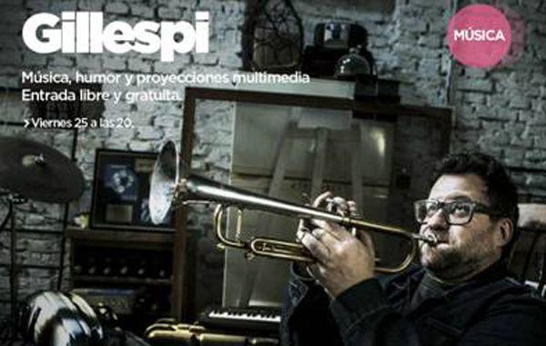 Gillespi es un reconocido trompetista