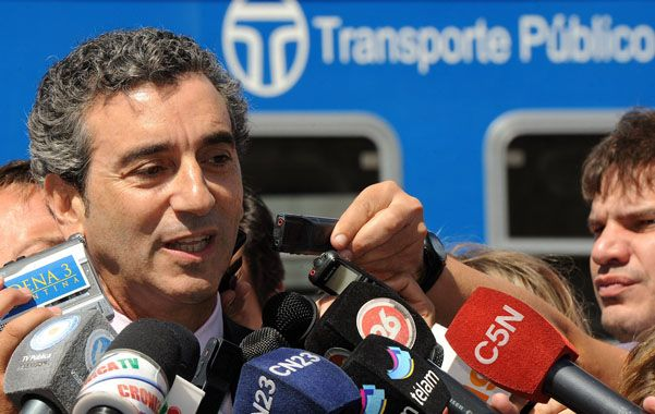 Candidatura frenada. El choque de trenes en Castelar hizo bajar las acciones de Florencio Randazzo.