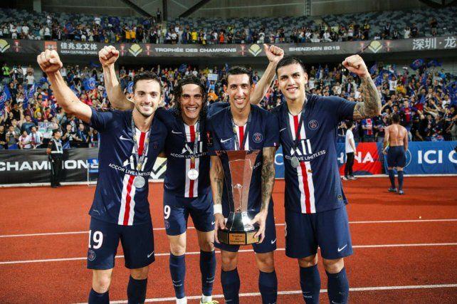 Campeones. Sarabia