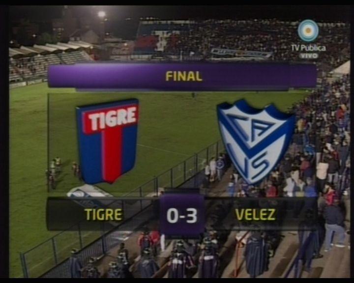 Vélez no tuvo piedad con Tigre, le ganó 3 a 0 y está a cinco del líder