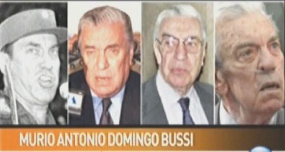Murió el represor Antonio Domingo Bussi