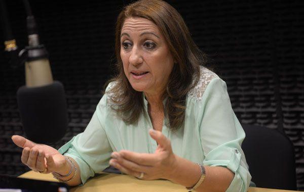 Para la intendenta Fein, la llegada del tren es un gran paso para Rosario