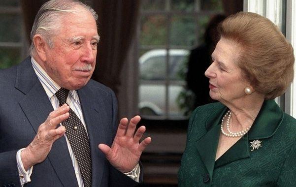 Trama secreta. Pinochet mantuvo encubierta la colaboración que le prestó a Margaret Thatcher.