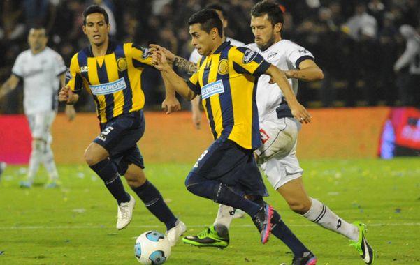 Desequilibrio. Carrizo le cambió la cara a Central en el complemento ante All Boys y por eso sería titular ante Lanús. (Foto: S. Suárez Meccia)