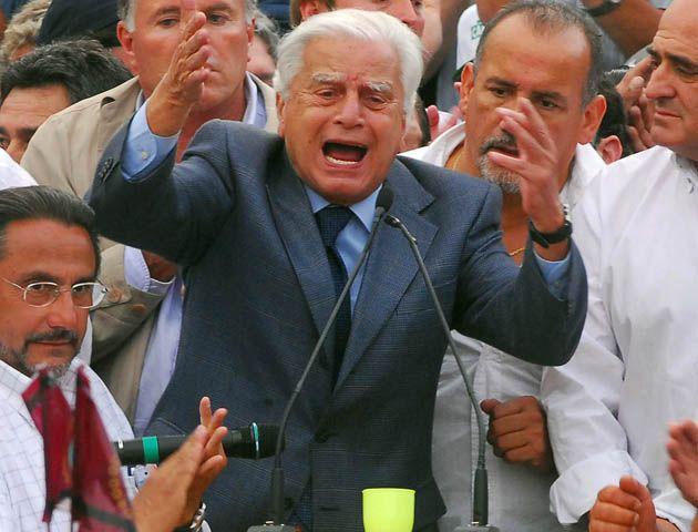 El històrico dirigente peronista falleció hoy a los 92 años.