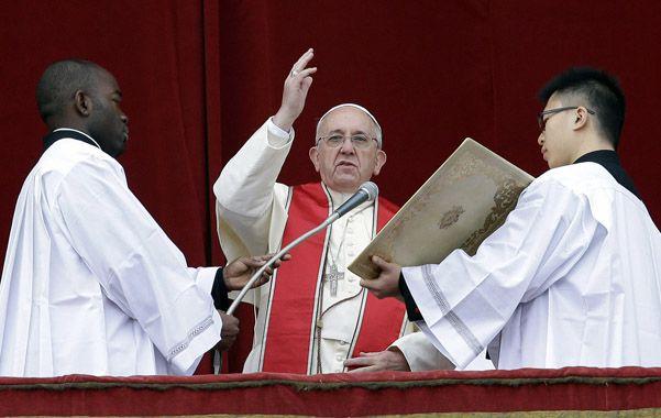 El Pontífice rezó por la paz en Siria y Africa