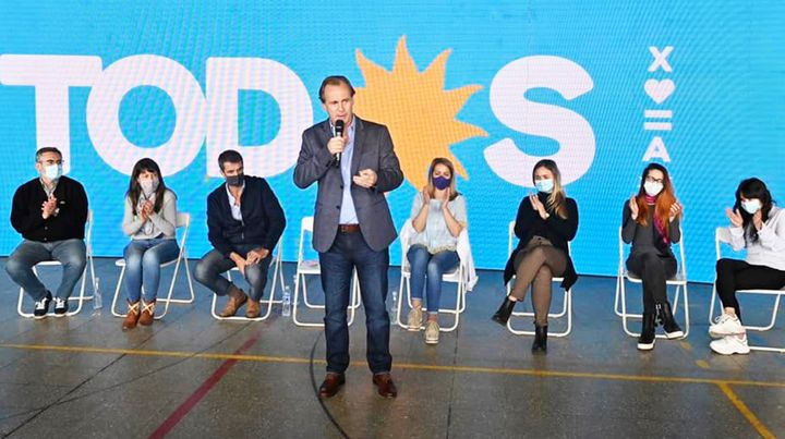 Bordet destacó la unidad del Frente de Todos tras la reunión con Fernández
