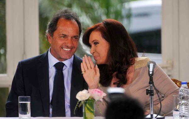 Desde los despachos de la Casa Rosada ven en el gobernador de Buenos Aires al candidato que puede llevarlos al triunfo.