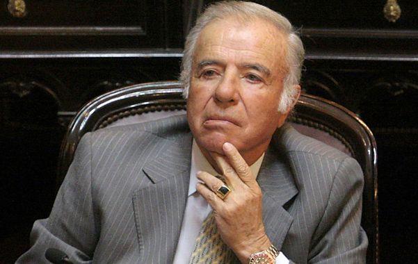 Sin banca. Menem es el primer ex presidente tras la restauración democrática en ser sentenciado por la Justicia.