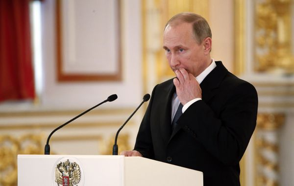 """Putin sostuvo que es otro claro intento de Estados Unidos de extender su jurisdicción a otros Estados""""."""