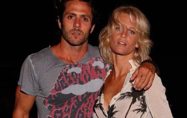 Nacho Ricci y Liz Solari.