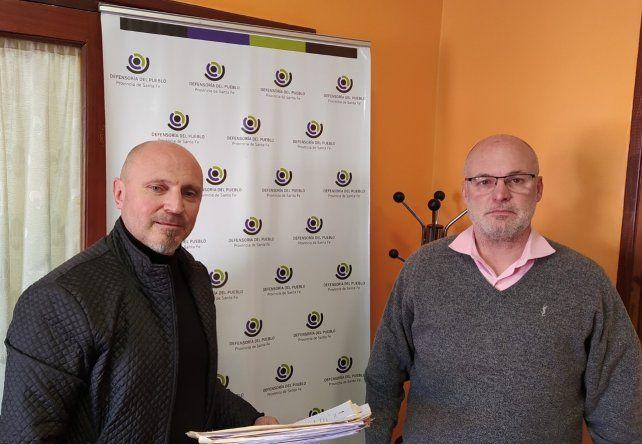 Gabriel Savino y Jorge Henn quedaron a cargo de la Defensoría del Pueblo de la provincia de Santa Fe.