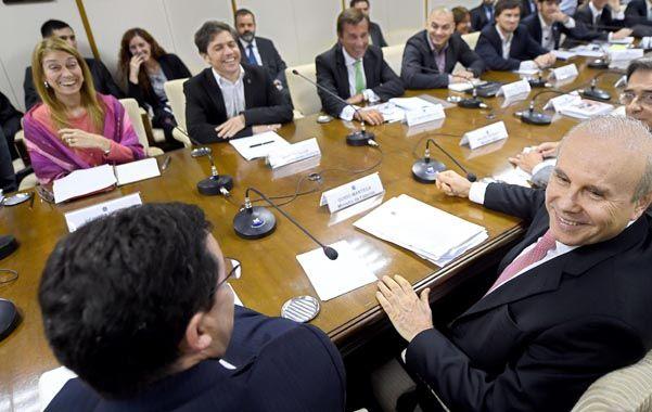 Cumbre en Brasilia. Los ministros de Economía e Industria de Brasil y Argentina volvieron a reunirse ayer.
