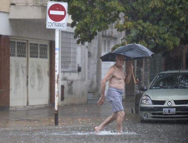 La temperatura para hoy en Rosario se estaciona en 20º con probabilidad de lluvias.