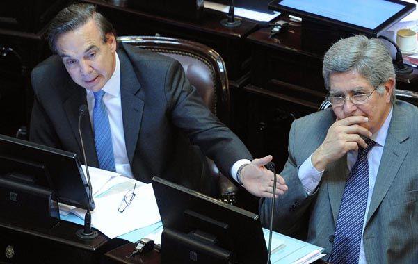 Férrea defensa. El senador Pichetto salió al cruce de las críticas opositoras y dijo que nadie controlará a los jueces.
