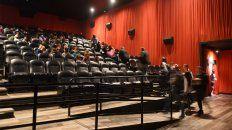 Los cines podrán reabrir con un 50 por ciento de ocupación de las salas.