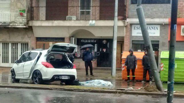 Una mujer murió esta mañana en un siniestro vial en barrio Belgrano